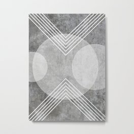 Urban Geometry Print Metal Print