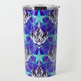 Starfire Kaleidoscope (Meteor Ice Storm) Travel Mug