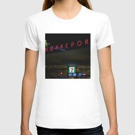 Norreport at night 1 Copenhagen T-shirt