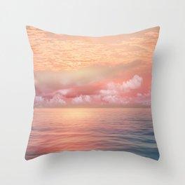 Pastel vibes 55 Throw Pillow