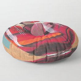 Fruit cocktail Floor Pillow