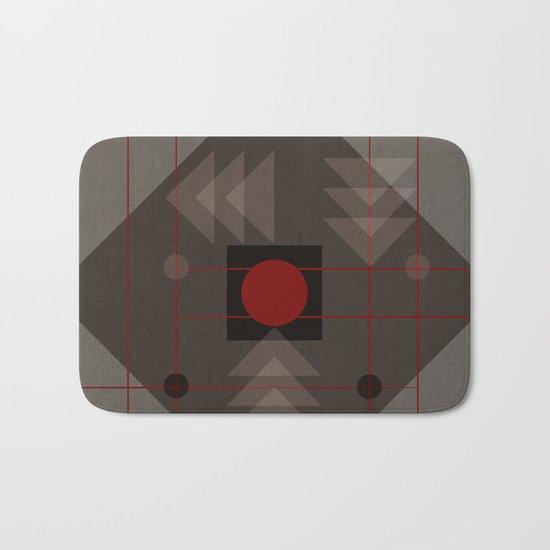 Geometric/Abstract 12 Bath Mat
