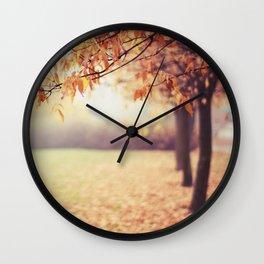 Keep on Falling Wall Clock