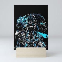 Vegeta Dragon Ball Mini Art Print