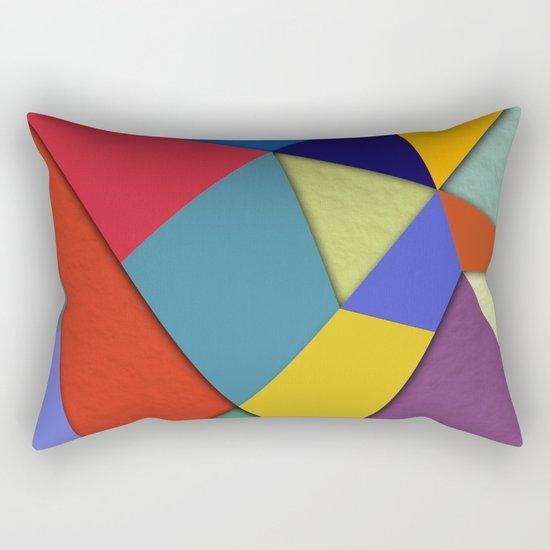 Abstract #207 Rectangular Pillow