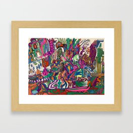 A Time in my Life Framed Art Print