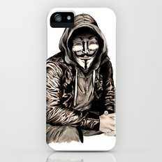 Anonymous Gangster Slim Case iPhone (5, 5s)