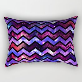 Galactic Chevron Rectangular Pillow