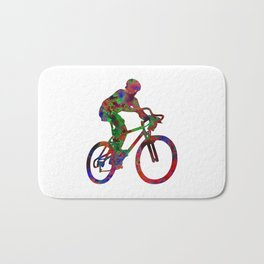 Cyclist Bath Mat