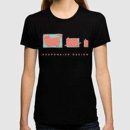 Responsive Cat T-shirt
