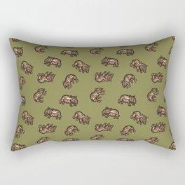 Baby Malayan tapir Rectangular Pillow