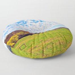 Plum Creek Valley Floor Pillow