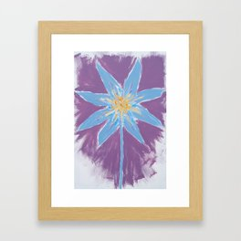Process In The Weather Of  The Heart Framed Art Print