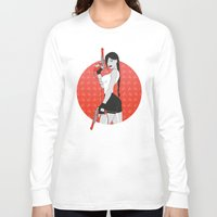 tomb raider Long Sleeve T-shirts featuring Duck Raider by Lily's Factory