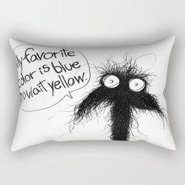The creatures from the drain poster 1 Rectangular Pillow