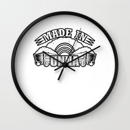 Made in Unna Gift Idea Ruhr Wall Clock