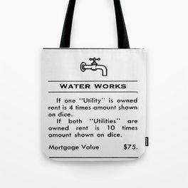 Deed Tote Bag