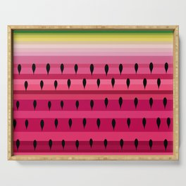 Love of a Watermelon Serving Tray