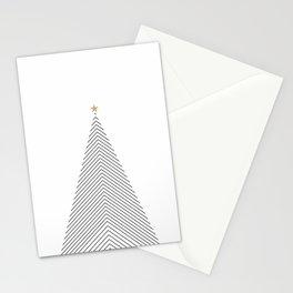 Minimal Christmas Tree #society6 #decor #buyart Stationery Cards