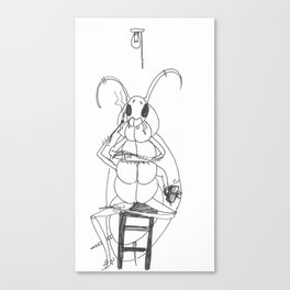 La Cucaracha Canvas Print