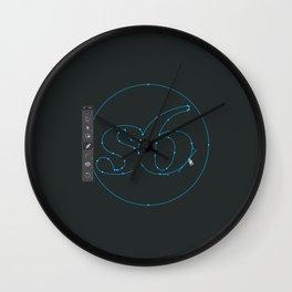 S6 Tee - Vector Wall Clock