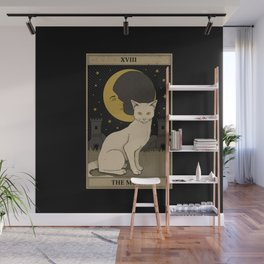 The Moon Wall Mural