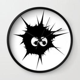 Cute monster furry Wall Clock