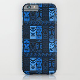 Blue Tikis! iPhone Case