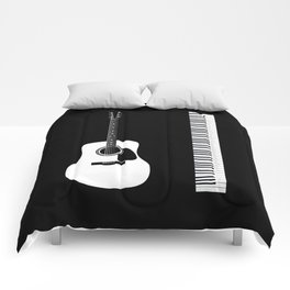 Guitar Piano Duo Comforters