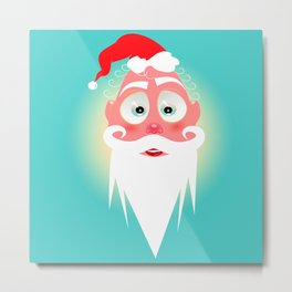 Santa Lolo/ Character & Art Toy design for fun Metal Print