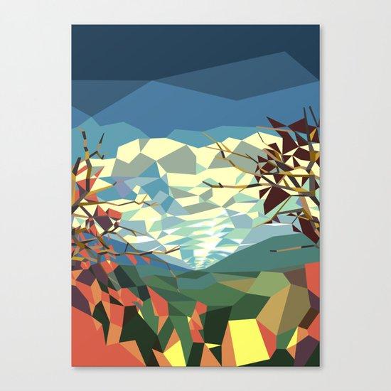 Landshape Canvas Print