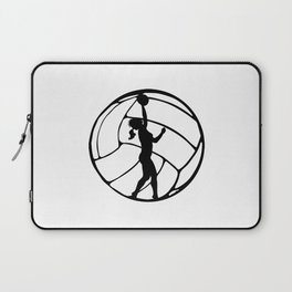 Volleyball Girl | Sports Volleyball Lover Gift Laptop Sleeve