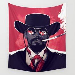 Jamie Foxx Django Unchained - Django Art Wall Tapestry