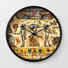 Ancient Aliens Wall Clock
