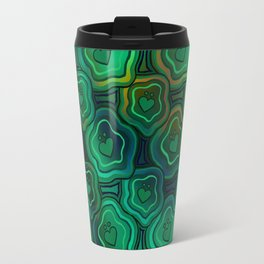 'I Love You Umlaut' Pattern - Endless Lillipads Travel Mug