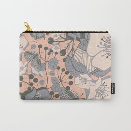 Blush Blooms Carry-All Pouch