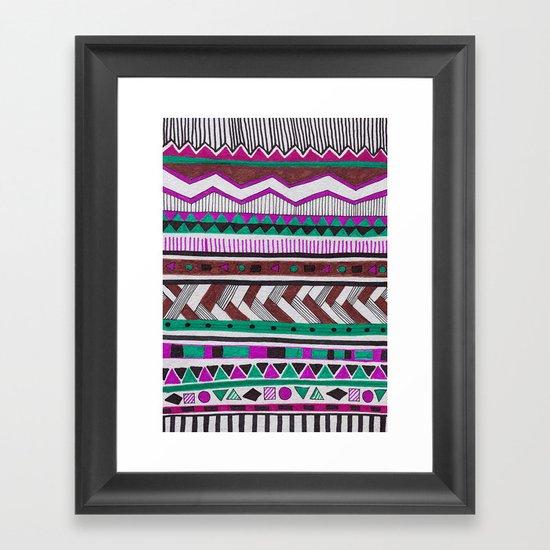 TAMAYA-MIXE Framed Art Print