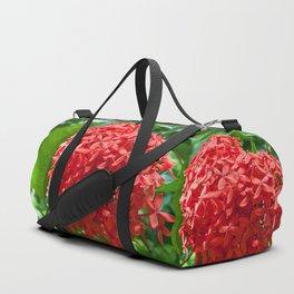 Ixora Coccinea Duffle Bag