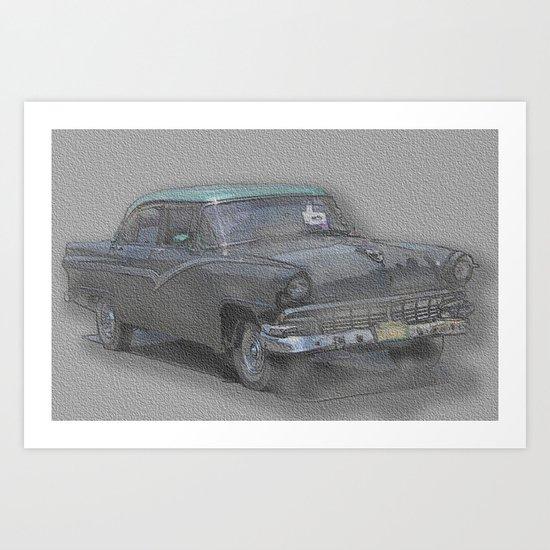 amcar 1 Art Print
