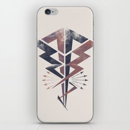 Lightning Bolt iPhone Skin