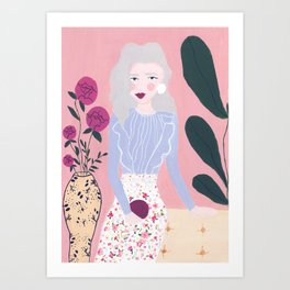 Amadea Art Print