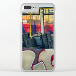 Departure with Ghosts Clear iPhone Case
