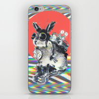 ali iPhone & iPod Skins featuring Time Traveller by Ali GULEC