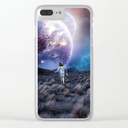 Lost in a Dream Clear iPhone Case