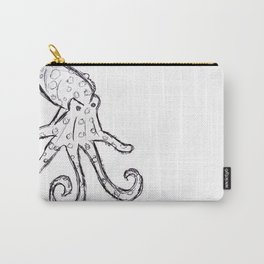 Octopus - Original Pen Ink Sketch Carry-All Pouch