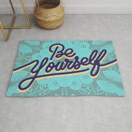 BE YOURSELF Rug