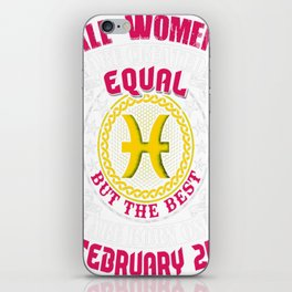 Best-Women-Born-On-February-24-Pisces---Sao-chép iPhone Skin