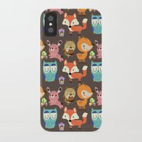 woodland iPhone & iPod Cases featuring Woodland by Maria Jose Da Luz