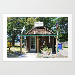Bridal Veil Post Office Art Print