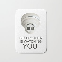 Big brother is watching you Bath Mat